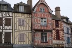 Auxerre: Fachwerk