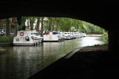 Am Kanal in Carcassonne