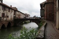 Saint-Jean-Pied-de-Port - Blick auf die Nivebrücke