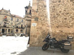 Parkplatz am Plaza Mayor