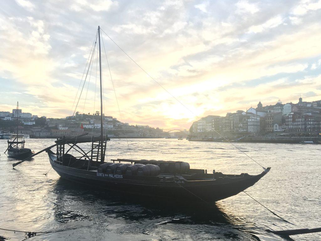 Im Hafen von Vila Nova de Gaia
