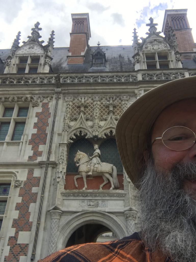 Am Schloss von Blois